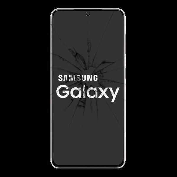 Smashed Samsung Screen