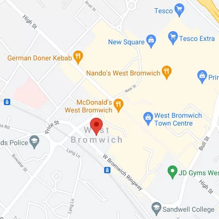 West Bromich Screen Repairs